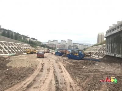 延吉市中环路四期进入隧道施工了!明年年底通车!
