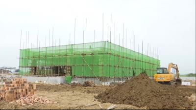 [视频新闻]珲春市城乡应急救援物资储备库项目建设进展有序