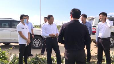 [视频新闻]金寿浩到珲春市就防汛救灾工作进行调研