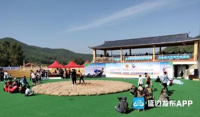 【广电快讯】第8届《朱德海》杯中国朝鲜族摔跤比赛在龙井举行