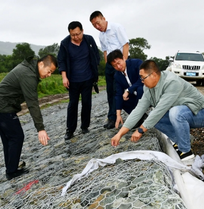 延边州纪委监委下沉一线 督促做好防汛防台工作