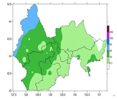 【广电快讯】8月31日20时至9月1日20时 全州平均降水量为8.8毫米