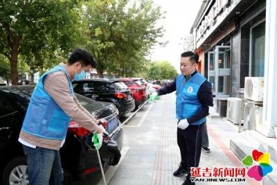 【创城进行时】延吉奔驰4S店志愿者助力创城