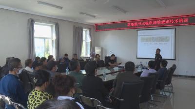 【视频新闻】全州果树栽培培训班在龙井举办