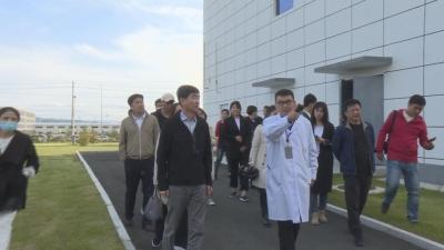 【视频新闻】媒体采访团走进敦化