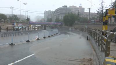 【视频新闻】受台风影响 我州部分地方遭暴雨袭击