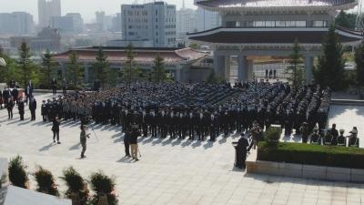 【视频新闻】州暨延吉市举行向人民英雄敬献花篮仪式