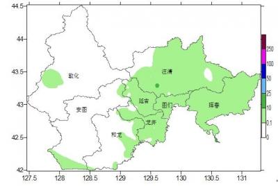 【广电快讯】截至17时 全州平均降水量为1.3毫米