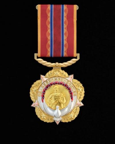 这枚纪念章,致敬抗美援朝英雄!