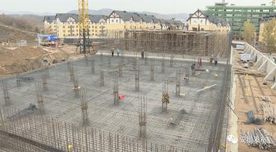 安图县供水工程项目建设正在有序开展
