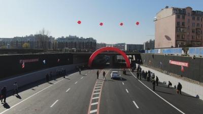 【视频新闻】延吉市局子街延伸工程今日通车