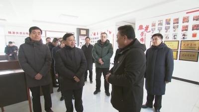 【视频新闻】韩俊到我州调研