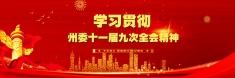 【专题】学习贯彻州委十一届九次全会精神