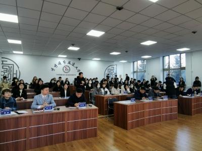 第八届延边大学研究生朝/韩语口译大赛圆满举行