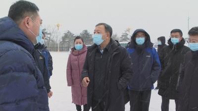【视频新闻】金寿浩调研疫情防控工作