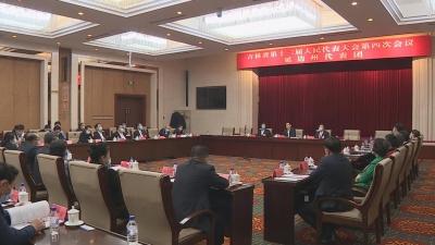 【视频新闻】田锦尘参加省十三届人大四次会议分组审议