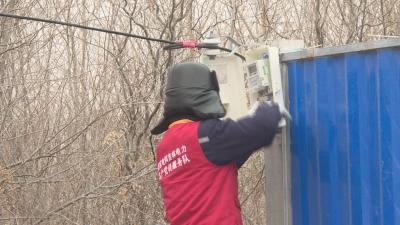 【视频新闻】国网延边供电公司为防疫检查点接线供电