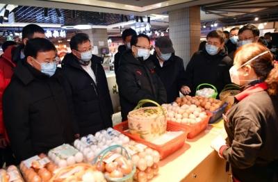 景俊海:采取果断措施迅速扑灭疫情 保障人民群众生活平稳有序