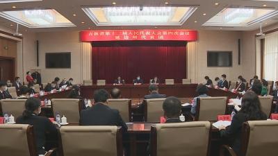 【视频新闻】我州参加省十三届人大四次会议的代表分组审议省政府工作报告