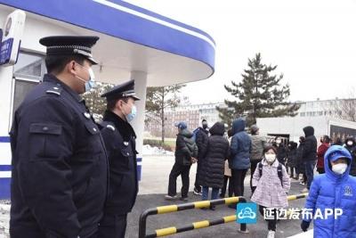 延吉市公安局强化措施全力为中小学校幼儿园新学期复学保驾护航