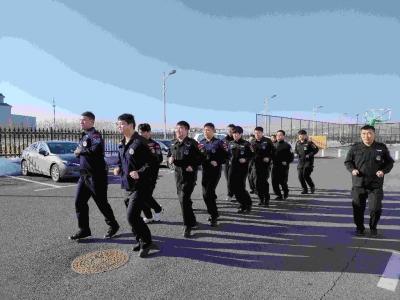 延边法警:岗位练兵强素质,理论学习促提升