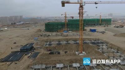 扩建的珲春市第一高中预计年底竣工投入使用