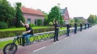 세계에서 가장 긴 자전거,길이만 37m