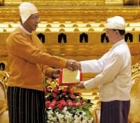 미얀마 54년만에 민정 회복