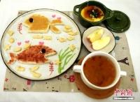 매일매일 달라지는 귀여운 아침식사