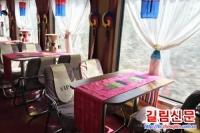 연길—송강하 호화관광전용렬차 달린다