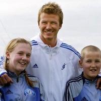 토트넘 해리케인, 11살 때 베컴과 찍은 사진 공개