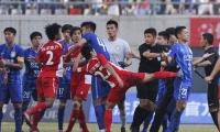 강소vs무한 충돌사건에 대해 중국축구협회 엄하게 처리할것