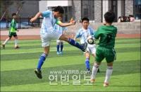 연변 특색학교 축구경기(갑조) 결속