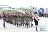 중국, 몽골에서 진행되는 다국 군사훈련에 참가