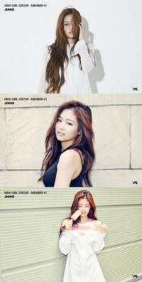 베일 벗은 YG 새 걸그룹…첫번째 멤버는 제니