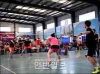 KAWASAKI컵 바드민톤경기 개최
