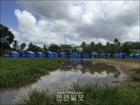 중국 국제구조대, 스리랑카 리재민 위해 림시주거시설 마련