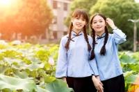 북경사범대학 미모의 녀학생들 사진 공개