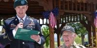 70년만에 훈장 받은 2차대전 로병