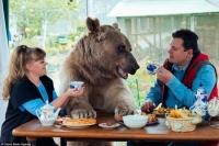 """""""한지붕 곰가족"""" 식사, 스포츠도 함께"""
