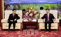 장엄 심양주재 한국총령사관 신봉섭총령사 회견