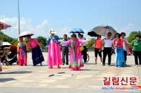장백조선족민속문화관광축제 조선족체육운동 민속활동 진행