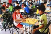 전국아마추어장기 연변지역청소년경기 룡정서