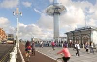 영국, 세계 최고 높이 '이동전망타워' 개장