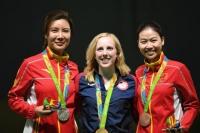 미국 선수 리오올림픽 첫 금매달 획득