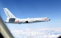 중국 공군 다종 주요 전투기 남해로 출발