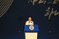 박근혜 대통령, 핵무기개발 즉각 중단 조선에 촉구
