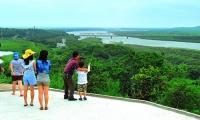 상반기 훈춘 관광경제 폭풍 성장