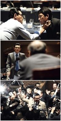 '천의 얼굴' 황정민, '아수라'서 소름 끼치는 악역 변신