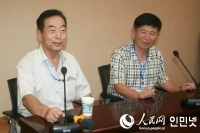 중국조선족문학의 대부 김학철선생문학 학술세미나 대련민족대에서